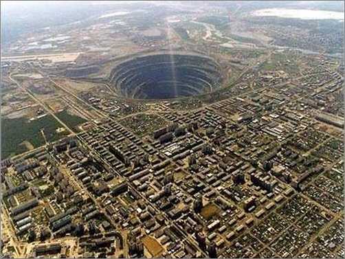 Mirny Diamond Mine -- Serbia
